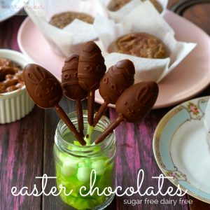 Paleo easter sugar free chocolate