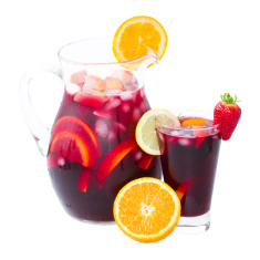 Berry Kombucha Sangria Recipe