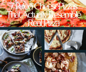 7 paleo cheese pizzas that actually resemble real pizza