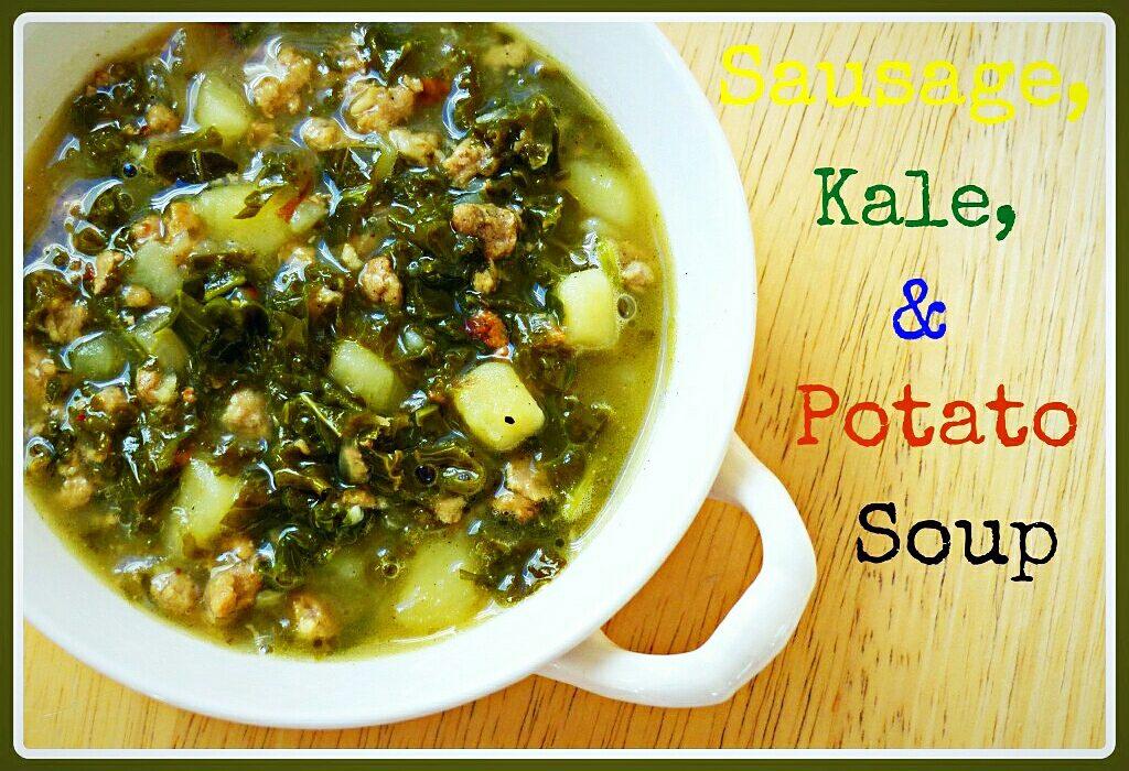 primal sausage kale potato soup