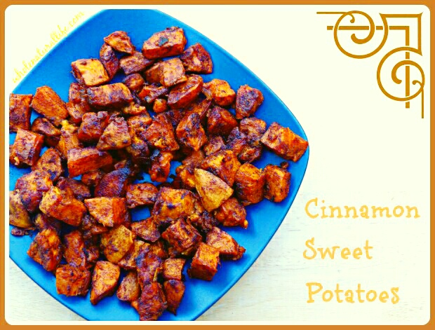 paleo cinnamon sweet potatoes