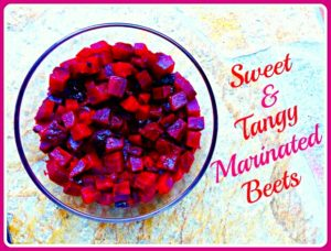 paleo marinated beets