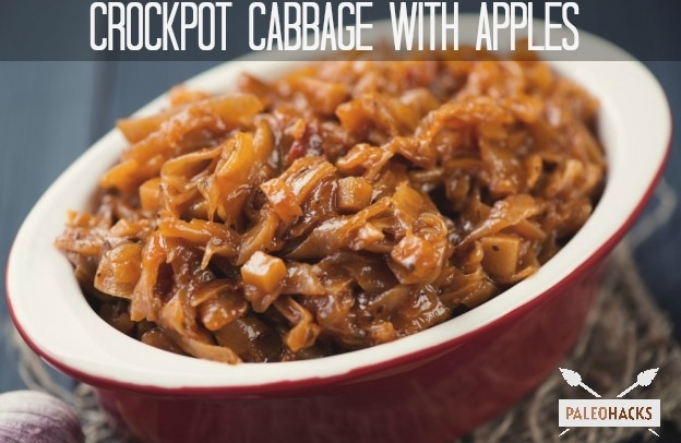 paleo crockpot cabbage and apples