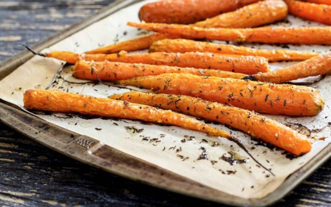 paleo roasted carrots