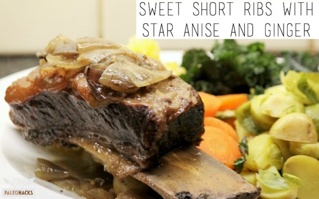 Paleo slow cooker sweet short ribs