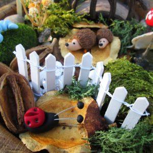 doiy faery garden set