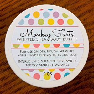 monkey farts organic body butter