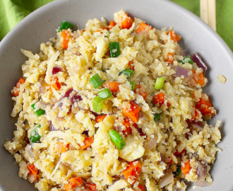 paleo cauliflower fried rice - paleo cauli rice